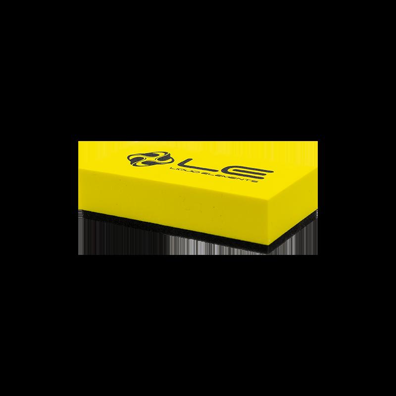 Liquid Elements - Applikator Block gelb 8x4x2cm